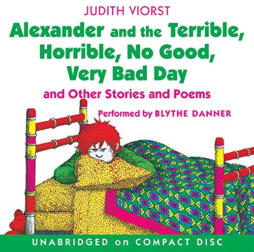 9780060723316: Alexander and the Terrible, Horrible, No Good, Very Bad Day CD