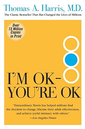 9780060724276: Im Ok Youre Ok T