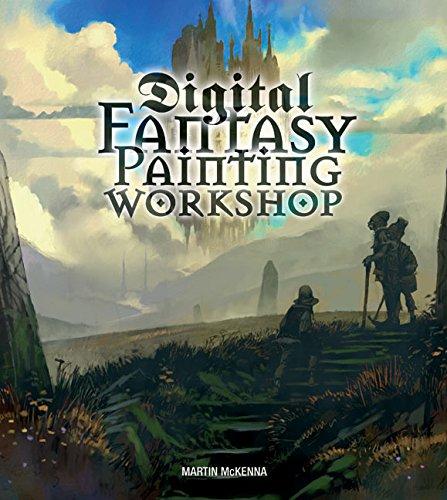 9780060724320: Digital Fantasy Painting Workshop