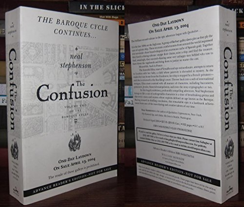 9780060724733: The Confusion [Paperback] by Stephenson, Neal (Signed)