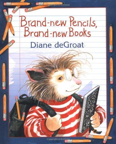 9780060726133: Brand-new Pencils, Brand-new Books