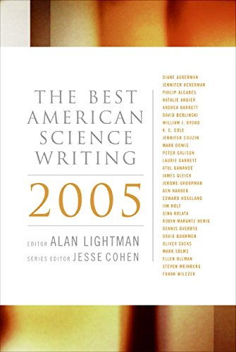 9780060726423: The Best American Science Writing 2005