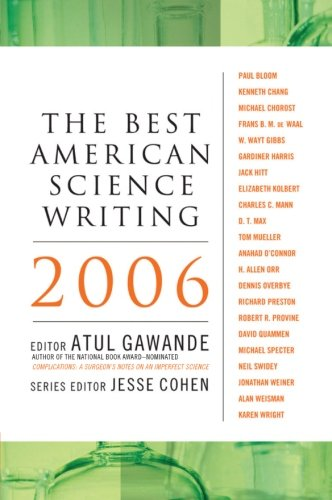 The Best American Science Writing 2006 (Best American Science Writing)