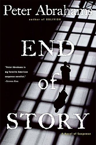 9780060726652: End of Story: A Novel of Suspense