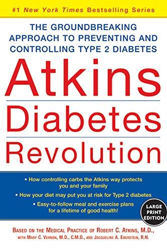 9780060726966: Atkins Diabetes Revolution