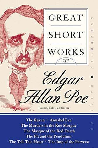 9780060727857: Great Short Works of Edgar Allan Poe: Poems, Tales, Criticism (Perennial Classics)