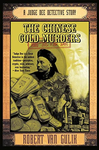 9780060728670: The Chinese Gold Murders: A Judge Dee Detective Story (Judge Dee Mysteries)
