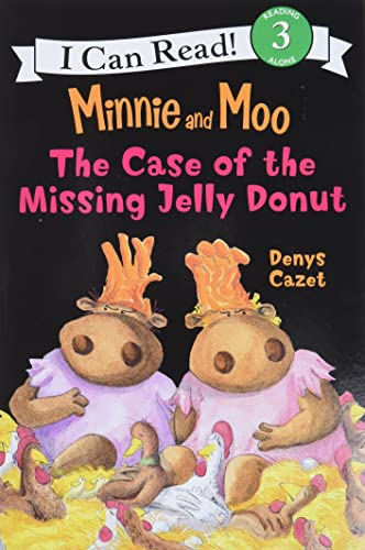 9780060730093: Minnie and Moo: The Case of the Missing Jelly Donut (I Can Read Book 3)