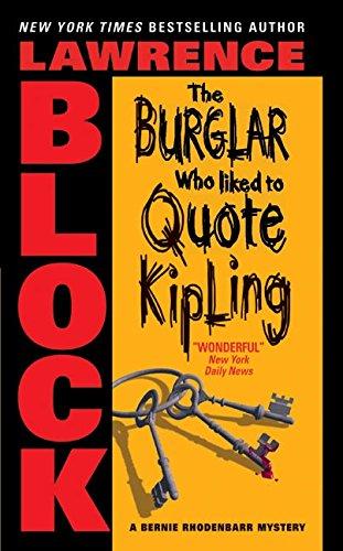 9780060731250: The Burglar Who Liked to Quote Kipling (Bernie Rhodenbarr)