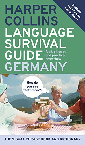 9780060733797: HarperCollins Language Survival Guide: Germany: The Visual Phrase Book and Dictionary (HarperCollins Language Survival Guides)