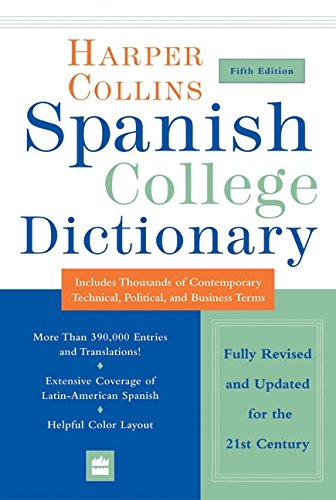 9780060733803: HarperCollins Spanish College Dictionary 5th Edition (Collins Language)