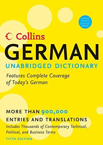 9780060733810: Collins German Unabridged Dictionary 5th Edition (Harpercollins Unabridged Dictionaries)