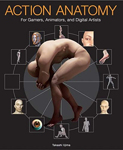 9780060736811: Action Anatomy: For Gamers, Animators And Digital Artists