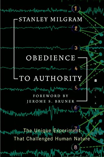 9780060737283: Obedience to Authority: An Experimental View (Perennial Classics)