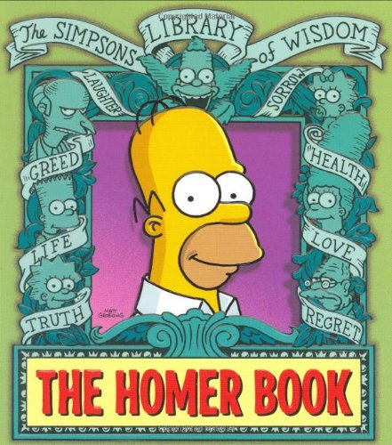 9780060738846: The Homer Book (Simpsons Library of Wisdom)