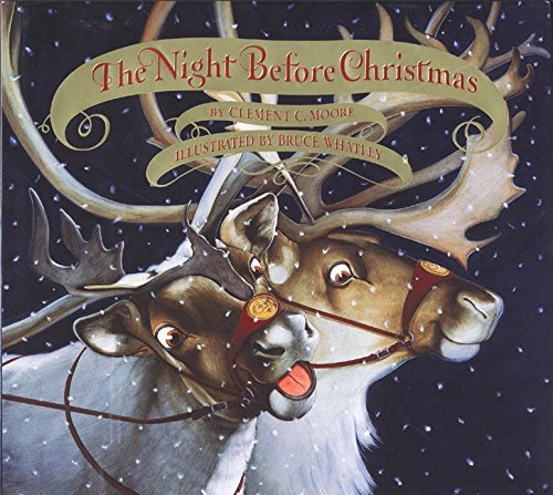 9780060739171: The Night Before Christmas Board Book