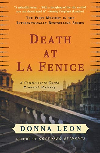 9780060740689: Death at La Fenice: A Commissario Guido Brunetti Mystery