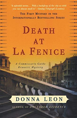 9780060740689: Death at La Fenice: A Commissario Guido Brunetti Mystery