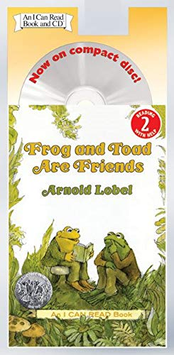 9780060741068: Frog and Toad Are Friends Book and CD (I Can Read Level 2)