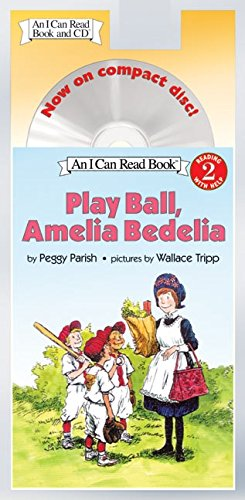 9780060741082: Play Ball, Amelia Bedelia Book and CD [With CD] (I Can Read - Level 2 (Quality))
