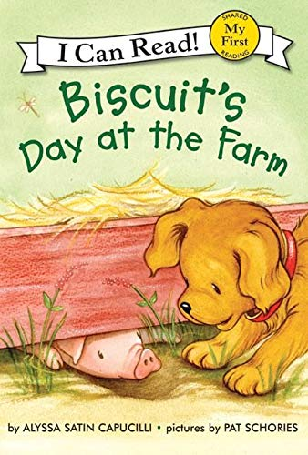 9780060741679: Biscuit's Day at the Farm (My First I Can Read)