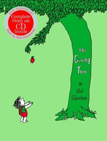 9780060745936: The Giving Tree 40th Anniversary Edition Book with CD with CD (Audio)