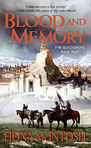 9780060747596: Blood and Memory (The Quickening, Book 2)