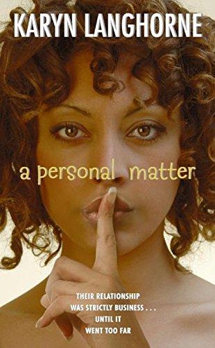 9780060747732: A Personal Matter