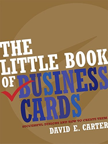 9780060748081: The Little Book of Business Cards: Successful Designs and How to Create Them