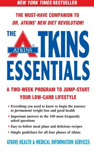 9780060748166: The Atkins Essentials: A Two-Week Program to Jump-Start Your Low-Carb Lifestyle
