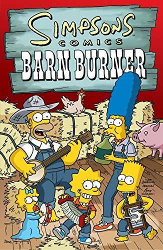9780060748180: Simpsons Comics Barn Burner