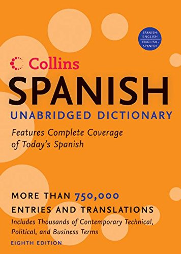 9780060748968: HarperCollins Spanish Unabridged Dictionary, 8th Edition (Harpercollins Unabridged Dictionaries)