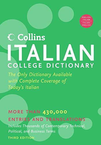 9780060749088: HarperCollins Italian College Dictionary, 3rd Edition (Collins Language)