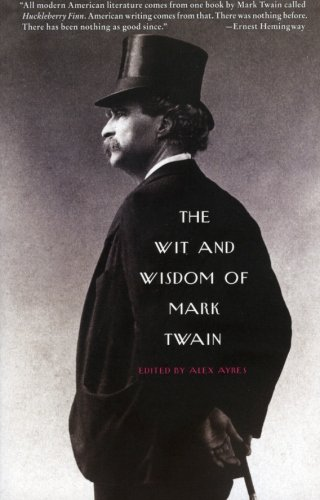 9780060751043: The Wit and Wisdom of Mark Twain