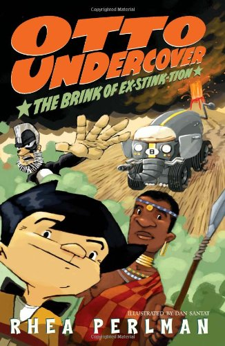 9780060755034: Otto Undercover #5: The Brink of Ex-stink-tion