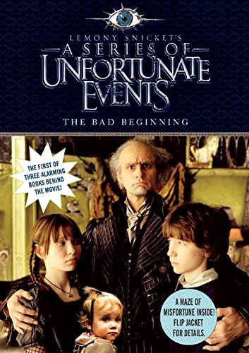 9780060755898: The Bad Beginning, Movie Tie-in Edition (A Series of Unfortunate Events, Book 1)