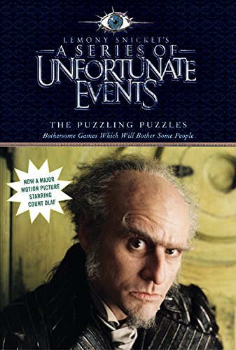 9780060757304: The Puzzling Puzzles: Bothersome Games Which Will Bother Some People (A Series of Unfortunate Events Activity Book)