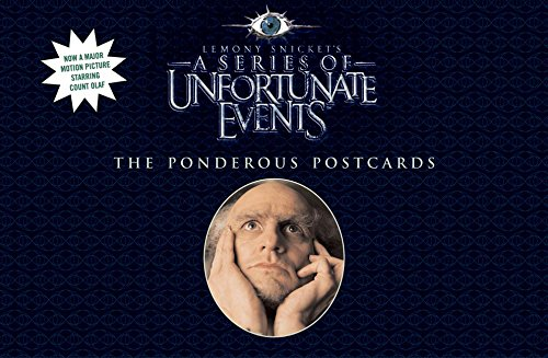 9780060757328: Lemony Snicket Ponderous Postcards (A Series of Unfortunate Events)