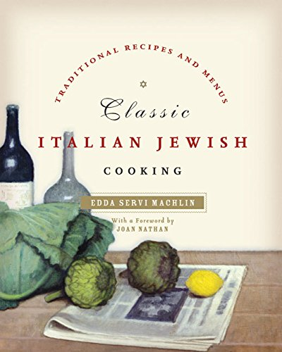 9780060758028: Classic Italian Jewish Cooking: Traditional Recipes and Menus
