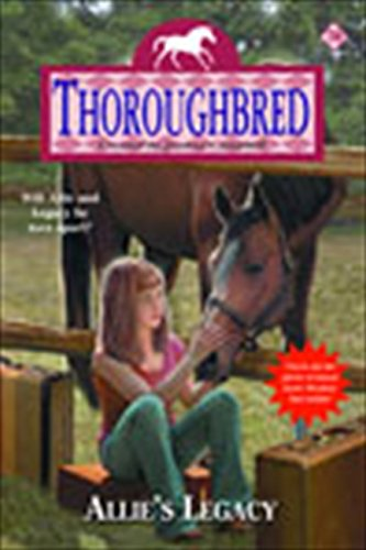 9780060758349: Thoroughbred #70: Allie's Legacy
