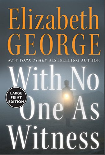 9780060759407: With No One As Witness (Large Print)