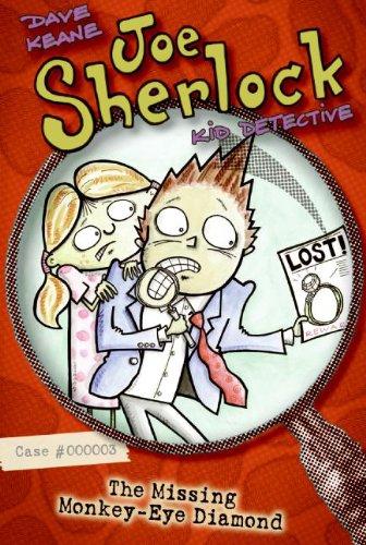 9780060761905: Joe Sherlock, Kid Detective, Case #000003: The Missing Monkey-Eye Diamond