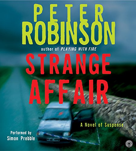 9780060763336: Strange Affair (Inspector Banks Novels)