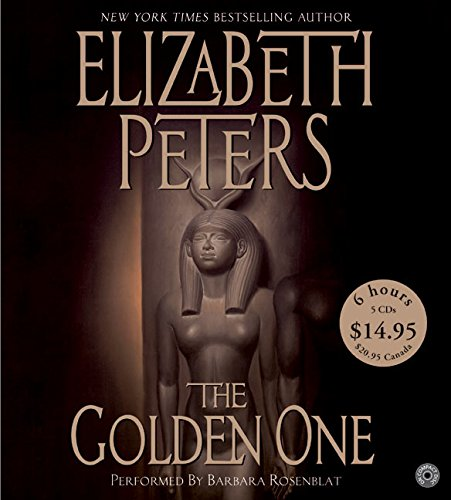 9780060763626: The Golden One CD Low Price: The Golden One CD Low Price (Amelia Peabody Mysteries)