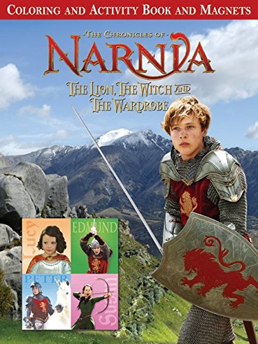 9780060765583: The Lion, the Witch and the Wardrobe Coloring and Activity Book and Magnets (Chronicles of Narnia)