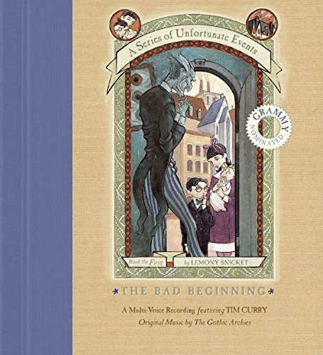 9780060765798: The Bad Beginning: A Multi-Voice Recording (Series of Unfortunate Events (HarperCollins Audio))