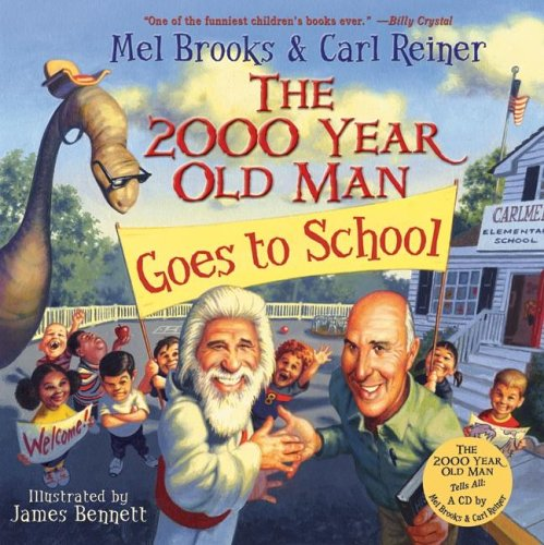 9780060766764: The 2000 Year Old Man Goes to School
