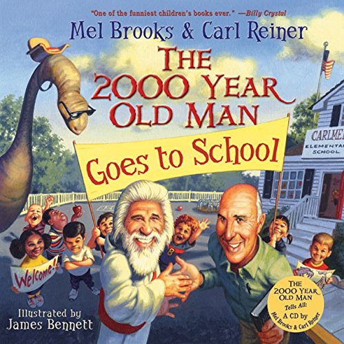 9780060766771: The 2000 Year Old Man Goes to School with CD (Audio)