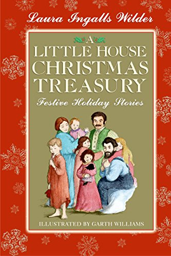 9780060769185: A Little House Christmas Treasury: Festive Holiday Stories