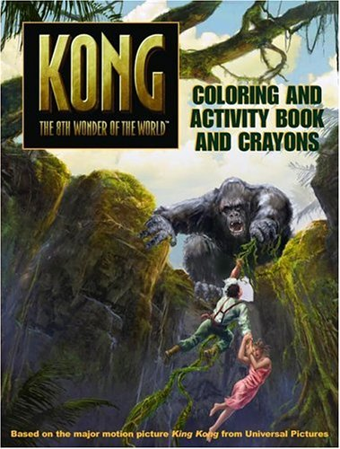 9780060773052: King Kong: Coloring and Activity Book and Crayons